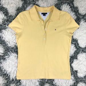 Tommy Hilfiger Women's Collared Shirt Medium